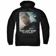 The Last Ship Hoodie Captian Tom Black Sweatshirt Hoody