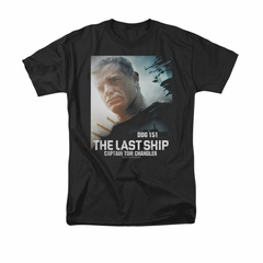 The Last Ship Shirt Captian Tom Black T-Shirt