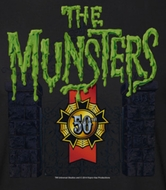 The Munsters 50 Years Logo Shirts
