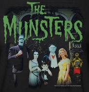 The Munsters 50 Years Portrait Shirts