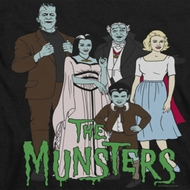 The Munsters Cartoon Shirts