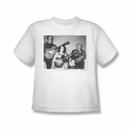 The Munsters Shirt Kids Guitar White Youth T-Shirt
