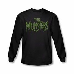 The Munsters Shirt Slime Long Sleeve Black T-Shirt