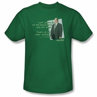 The Office Shirt Kevin's Dream Green T-Shirt