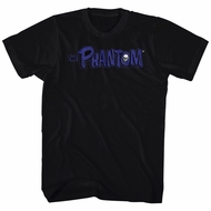 The Phantom Shirt Logo Black T-Shirt