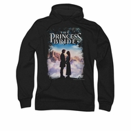 The Princess Bride Hoodie Sweatshirt Storybook Love Black Adult Hoody Sweat Shirt