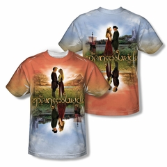 The Princess Bride Poster Sub Sublimation Kids Shirt Front/Back Print