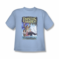The Princess Bride Shirt Kids Alt Poster Light Blue Tee T-Shirt