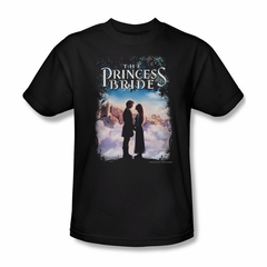 The Princess Bride Shirt Storybook Love Adult Black Tee T-Shirt