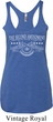 The Second Amendment Ladies Tri Blend Racerback Tank Top