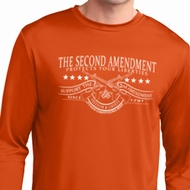 The Second Amendment Mens Dry Wicking Long Sleeve Shirt