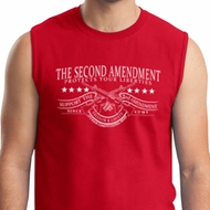 The Second Amendment Mens Muscle Shirt