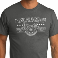 The Second Amendment Mens Organic Shirt
