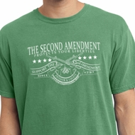 The Second Amendment Mens Pigment Dyed Shirt