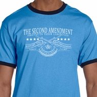 The Second Amendment Mens Ringer Shirt