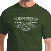 The Second Amendment Mens Shirts