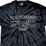 The Second Amendment Spider Tie Dye Shirt