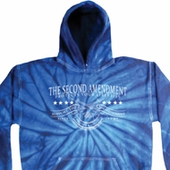 The Second Amendment Tie Dye Hoodie