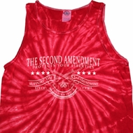The Second Amendment Tie Dye Tank Top