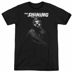 The Shining  Bear Black Ringer Shirt