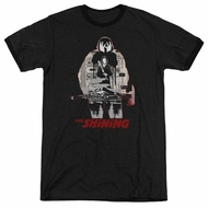The Shining  Come Out Come Out Black Ringer Shirt