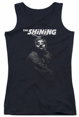 The Shining  Juniors Tank Top Bear Black Tanktop
