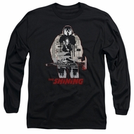 The Shining  Long Sleeve Shirt Come Out Come Out Black Tee T-Shirt