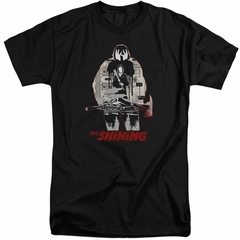 The Shining Shirt Come Out Come Out Tall Black T-Shirt