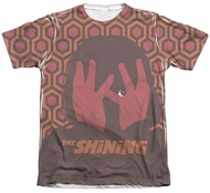 The Shining Shirt Hallway Poly/Cotton Sublimation Shirt