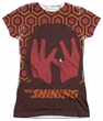 The Shining Shirt Hallway Sublimation Juniors Shirt Front/Back Print