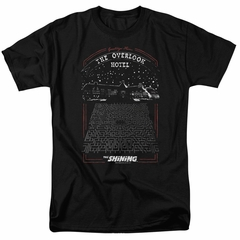 The Shining Shirt Overlook Hotel Black T-Shirt