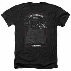The Shining Shirt Overlook Hotel Heather Black T-Shirt