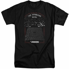 The Shining Shirt Overlook Hotel Tall Black T-Shirt