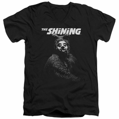 The Shining  Slim Fit V-Neck Shirt Bear Black T-Shirt