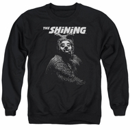 The Shining  Sweatshirt Bear Adult Black Sweat Shirt