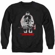 The Shining  Sweatshirt Come Out Come Out Adult Black Sweat Shirt