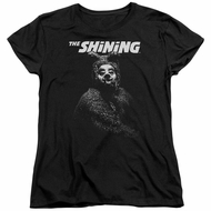 The Shining  Womens Shirt Bear Black T-Shirt