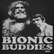 The Six Million Dollar Man Bionic Buddies Shirts