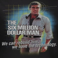 The Six  Million Dollar Man Shirts