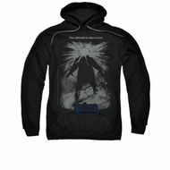 The Thing Hoodie Sweatshirt Shine Poster Black Adult Hoody Sweat Shirt