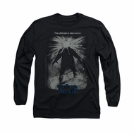 The Thing Shirt Shine Poster Long Sleeve Black Tee T-Shirt