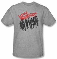 The Warriors Shirt The Gang Adult Athletic Heather Tee T-Shirt