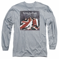 The Who Long Sleeve Shirt The Kids Cover Athletic Heather Tee T-Shirt