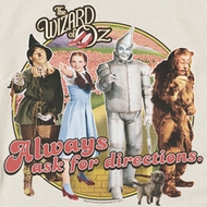 The Wizard Of Oz Always Ask For Directions Shirts