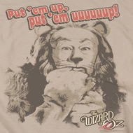 The Wizard Of Oz Put 'Em Up Cowardly Lion Shirts