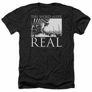 The Word Alive Shirt Real Heather Black T-Shirt
