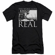 The Word Alive Slim Fit Shirt Real Black T-Shirt