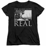 The Word Alive Womens Shirt Real Black T-Shirt