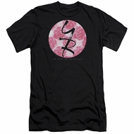 The Young And The Restless Slim Fit Shirt Young Roses Logo Black T-Shirt