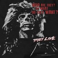 They Live Who are They? Shirts
